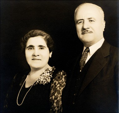 Aghavni and Hagop Zakian founded the Zakian rug cleaning business in 1923.