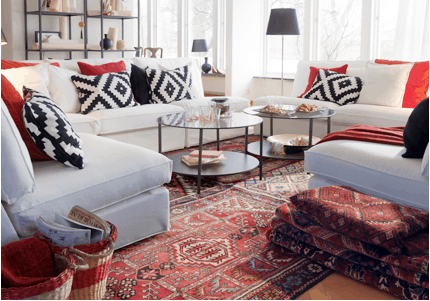 Interior Design with Oriental Rugs Philadelphia PA Zakian Rugs